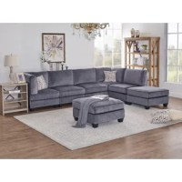 This  Modular Sectional is a relaxed casual contemporary modular group. It features mini pie crust welting, extra thick sink into seat cushions and creative seating versatility. The modular pieces of furniture provide unlimited seating configurations that can suit any room environment from sofas, loveseats, home theatre, sectionals, and pit groups large and small scale.