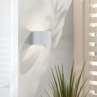 Royston 2-Light Outdoor Armed Sconce