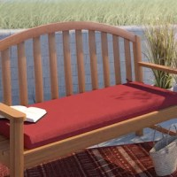 The Outdoor Bench Cushion is the perfect accessory piece for your outdoor bench, to showcase your attention detail and add comfort for you and your guests. Whether you are sitting by the fire or just reading a book, this cushion brings your standard patio bench to life. The bench cushion is 46
