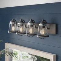 Inspired by nautical themes, this collection of fixtures uses specially crafted seedy glass shades and pairs them with bold metal trim and detailing.