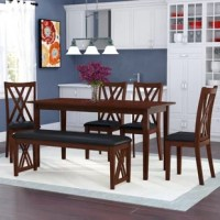 Anchor the dining room in an effortless style with this essential set, perfect for weekday meals and family gatherings alike