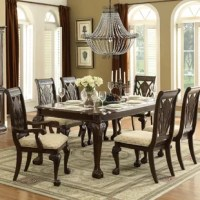 Christman 7 Piece Extendable Solid Wood Dining Set