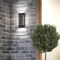 Easily add a touch of contemporary design with this is the perfect outdoor light sconce to enhance the beauty of your home exterior.