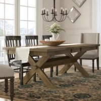 Your dining table is not only the spot you'll sit down to a meal in: it's also the centerpiece of your dining ensemble's style!