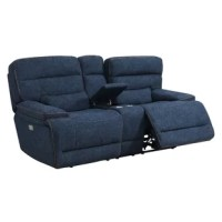 Stylish in design and functionality, this loveseat will create a comfortable place in your home to gather with family and friends. This power back and power seat reclining console loveseat will complement any home and budget. The quality materials and expert workmanship make this furniture stylish and comfortable for today and for years to come.