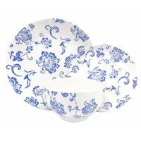 Get yourself a stoneware place setting that's strong enough to be used every day. This dinnerware set is dishwasher and microwave safe and can even be used in the oven up to temperatures of 400° F.