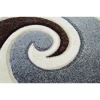 This rug artistically designed with unique colors that bring out the beauty of one of the best selling area rugs in the USA, plush, soft and durable, easy to maintain.