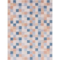 Are you on the hunt for an indoor or outdoor area rug? Look no further than this piece. This rug can take care of any space that you want and need.