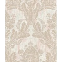 Brighten up walls with this glamorous Cashion Damask 33' L x 20.5