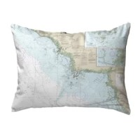 This manufacturer now offers their artwork on this Crystal River to Horseshoe Point, FL Non Corded Indoor/Outdoor Lumbar Pillow. Their artwork is printed on both sides on fade-resistant fabric for years of use and enjoyment.