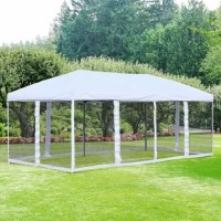 Grab your favorite drink and enjoy the shade of freedom with this canopy. The mesh sidewalls make it great for keeping bugs out so you can enjoy the outdoors even if the sun goes down. Save time when setting up so you have more time to enjoy yourself with this.