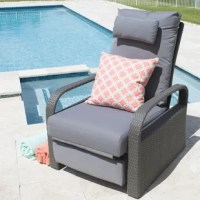 It's time to kick back and take a blissful nap. You've earned it! Daytona is a perfect marriage of cool and casual, an ideal addition to your outdoor collection. The generously sized recliner is constructed of durable and sleek synthetic rattan. The cozy weather resistant cushions will soothe all your worries away.