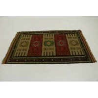 This genuine Area Rug was made by the hands of gifted weavers inspired by a variety of spectacular artistic patterns, to recreate the aged look of the original piece with the richness of color and quality of design.