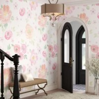 Bring unique style and taste to your home with wallpaper murals. You don't need to be a professional to install this manufacturer's products the peel and stick technology is repositionable, easy-to-install, and does not leave a residue when removed.