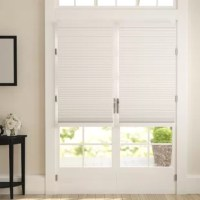 Made from high-quality fabric, these shades provide maximum privacy. The cost-saving honeycomb cells trap air to help keep rooms cooler in the summer and warmer in the winter.The cordless function is perfect for homes with children and pets. Cleaning regularly with a vacuum or duster will keep your shades looking new for years to come!