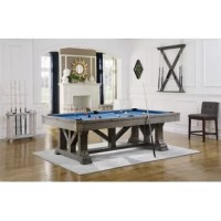 This pool table combines timber frame design, unique profiles and hand finishing that was inspired by old world styling and craftsmanship. More than just beautiful furniture, high-quality materials and construction will ensure many years of billiards with family and friends.