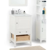 Your style vision is contemporary. You can see your new designer bathroom in your mind. Now all you have to do is find that perfect vanity that is both stylish and functional. This 21