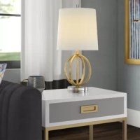 Brighten your space in streamlined, glamorous style with this 20