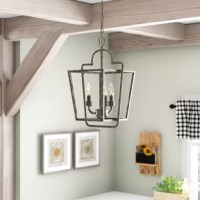 The pendant light serves as both an excellent source of illumination and an eye-catching decorative fixture.