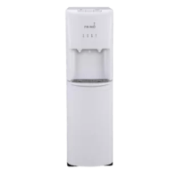 Sleek design and convenience meet with this water cooler. This bottom loading water cooler provides access to ice-cold or piping hot water in an instant with push-button controls. Simply place the drip tray, load a 3 or 5-gallon bottle of water and start hydrating in no time, no plumbing or installation required. Whether you choose a 3 or 5-gallon bottle of purified water with minerals or you refill your bottle at a primo self-service refill station, this multi-step reverse osmosis process...
