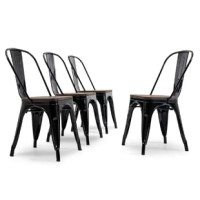 Completely change your living or restaurant space with this Buddy Dining Chair. Adding this chair can rev up any setting. The versatility of this chair easily conforms to different environments.