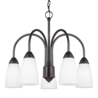 This chandelier enhances the beauty of your home with ample light and style to match today's trends.