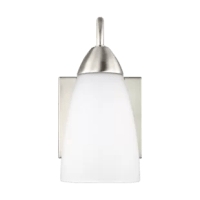 This Jaylene 1-Light Bath Sconce provides abundant light for your bath vanity while adding a layer of today's style to your interior design.