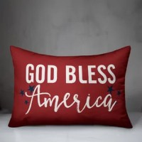 Add patriotic flair to your space with this Americana themed pillow. Designed and printed in the United States, this pillow is sure to be a conversation starter among your guests and boasts a great story! The result is an accent piece you are sure to love.