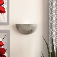 The Keyon Collection of faux alabaster fixtures provides the warmth and glow of genuine carved alabaster without the cost.
