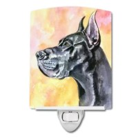 This artwork ceramic wall light is perfect for any room in the house. Two included screws hold the tile into a holder.