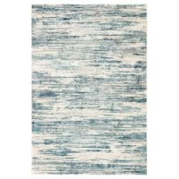 The abstract linear pattern of this area rug lends a modernist vibe to living spaces and bedrooms. Lustrous for a luxe touch, the viscose and polyester blend provides an incredibly soft high-low feel.