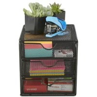 Your desk is probably messy and chaotic with all of your stationery items scattered in your drawers and on your desk. Keep your supplies in this file organizer to allow for a neat and clean desk.