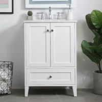 While unassuming, this vanity sure knows how to redefine luxury. The sleek knobs adorn the two cabinet doors and a base drawer which allows you to store your bathroom toiletries and necessities. Standing strong on oblique legs and dressed with a Calacatta quartz countertop, this vanity will surely create beauty and casual elegance in your bathroom or powder room.