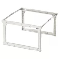 Quick assembly and sturdy construction make organizing your files a breeze. Assembles in just three easy steps with no tools necessary. Preset for letter size hanging files; adjusts to legal size in seconds. Can be used outside or inside desk as needed.