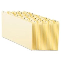 Makes it easy to stay organized and keep track of your files. Alphabetize files with ease. File guides feature tabs preprinted with A-Z. Durable construction means they won't fall apart on you. Manufacturer's lifetime guarantee.