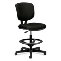 This chair offers upscale style, full-scale comfort and impressive quality at a surprisingly affordable price. This chair has generous seat and back cushions that are contoured for comfort and is ideal for sit-to-stand applications. The extended range pneumatic seat height adjustment moves up and down to accommodate sit-to-stand activities and the adjustable foot ring moves up and down and locks in place to adapt to various user heights. The task stool seat and back are designed to comfortably...
