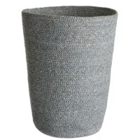 Sometimes a desk or office space can feel a little rigid. That's why we've developed these supple containers out of natural woven jute to help organize your space while softening your surroundings. The wastebasket is available in a palette of soothing yet sophisticated earthy tones and is discreetly lined with plastic for easy cleaning.