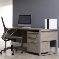 This Collection is a striking European designed office collection. All desks feature easy reach build-in power and USB plugs making charging and powering up a breeze. With this Collection you'll enjoy modern refreshing designs and the modern desks inspires and gives a comfortable residential feel to the modern workspace. Ample workspace and a convenient wire management system that hides cords. The wire management system feature dual legs enabling cords to be hidden. Set up your computer...