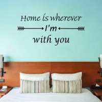 This wall decal is produced with top quality vinyl best suited for indoor surfaces. It can be applied to just about any hard, smooth surface and is safe for walls. This vinyl quote wall decal is the latest trend in home and office decor and is a creative way to add a touch of class to any room in your home or office.