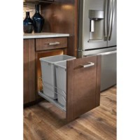 Rev-A-Shelf's 53WC series is going to add a touch of luxury with this it's modern Italian design and the durability you come to expect. Features soft-close slides system, patented door mount kit, and simple installation.