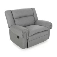 Whether you are looking to snuggle up with a loved one or looking to stretch out in ample comfort after a long day, this oversized recliner is the perfect relaxation spot. This recliner offers a manual lever mechanism that will instantly open up to provide maximum comfort, making this your new favorite place to unwind. Featuring generously plush seating and pillow top armrests, this piece is the epitome of coziness. Finished with a wingback design, the recliner also offers a charming style for...