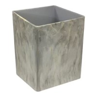 This product is sized perfectly for smaller space, but still have plenty of room for your recyclables and garbage, made of high-quality durable materials these dustbins will hold up to everyday use. These garbage bins can be used for trash recycling or storing items. The beautiful slim square design combined with the resin marble with marble finish make them the perfect compliment to any home.