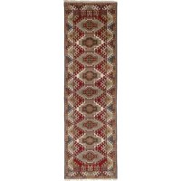 Fine hand-knotted Indian rug with strong Persian influenced designs.