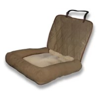 Turn your car's seat into a comfy pet bed with the PetSafe Car Cuddler, the perfect car bed for pups on the go. It's fitted for car seats and boasts a plush central bed section with generous side bolsters to ensure a cozy ride for your pampered pet. Small size is perfect for a bucket seat or a portion of a bench seat, and fits a pet up to 30 lb.; the Large size is great for the entire bench seat, comfortably fitting pets over 30 lb. or multiple pets. It's even machine washable for easy...
