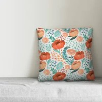 Brighten up your indoor and outdoor space with this colorful pillow. Designed and printed in the United States, this pillow is both functional and fashionable. The result is an accent piece you're sure to love.