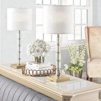 Modern yet timeless, the geometric crystal cubes on the base of the table lamp will bring a touch of glam and extra light to any dim corner. At nearly 30