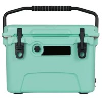 This 20-quart ice chest is built to withstand the unbearable heat of summer. Engineers have designed the ultimate ice chest that will retain ice for days on end. Boasting superior insulation, freezer gaskets, no-leak drain caps, and construction sturdy enough to withstand a raging yeti, there is no other cooler like it on the market. Whether headed to the beach or a day out on the lake, the ice chest is the companion you want to tag along.