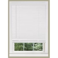 This horizontal/venetian blind features a valance, and no cords to tangle for the ultimate light and privacy. It offers outstanding value with its durable construction which resists warping, fading and sagging. The mounting brackets are designed for inside, outside or ceiling mount.