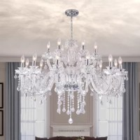 Louann  18 - Light Candle Style Classic / Traditional Chandelier
