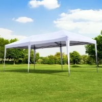 If you have an upcoming party or other outdoor event and need a beautiful easy to put up a tent, you are in the right place. This pop-up gazebo is perfect for spring weddings or even flea market sellers looking for some sun cover. If you're tired of having to tear down and rebuild your tent every time you use it you will love the easy pop-up design, and if you don't have much of a budget you are going to love the price even more. A good quality pops up tent at an unbeatable price, you are going...